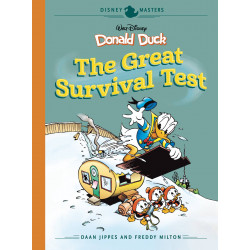 DISNEY MASTERS HC VOL 4 JIPPES MILTON DONALD SURVIVAL TEST