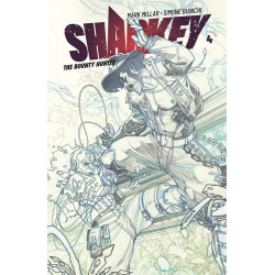 SHARKEY BOUNTY HUNTER 4 CVR B SKETCH BIANCHI