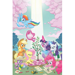 MY LITTLE PONY SPIRIT OF THE FOREST 1 CVR A HICKEY