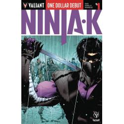 NINJA-K VOL 1 DOLLAR DEBUT