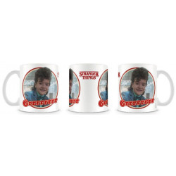 GRRRRRR DUSTIN STRANGER THINGS BOXED MUG