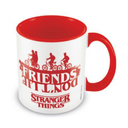 FRIENDS DON'T LIE STRANGER THINGS BOXED MUG