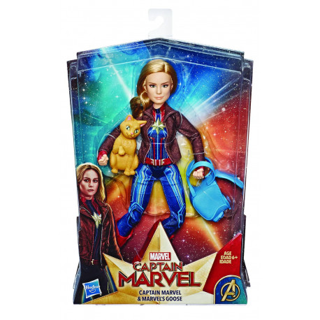 CAPTAIN MARVEL AND GOOSE SIGNATURE FASHION DELUXE DOLL