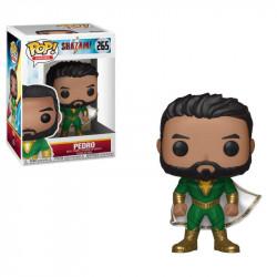 PEDRO SHAZAM DC COMICS POP! HEROES VYNIL FIGURE