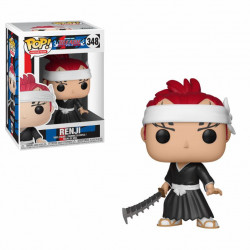 RENJI BLEACH POP! ANIMATION VYNIL FIGURE