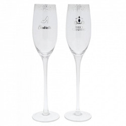 CINDERELLA TOASTING GLASSES DISNEY
