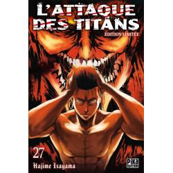 L'ATTAQUE DES TITANS T27 EDITION LIMITEE