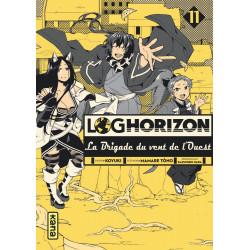 LOG HORIZON LA BRIGADE DU VENT DE L'OUEST, TOME 11
