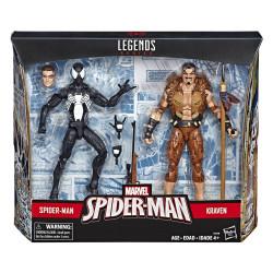 SPIDER-MAN AND KRAVEN MARVEL LEGENDS TWO PACK ACTION FIGURE