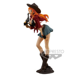 NAMI ONE PIECE STATUETTE PVC TREASURE CRUISE WORLD JOURNEY 19 CM