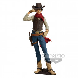MONKEY D. LUFFY ONE PIECE STATUETTE PVC TREASURE CRUISE WORLD JOURNEY 21 CM