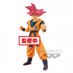SUPER SAIYAN GOD SON GOKU DRAGONBALL SUPER STATUETTE PVC CYOKUKU BUYUDEN 22 CM
