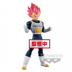 SUPER SAIYAN GOD VEGETA DRAGONBALL SUPER STATUETTE PVC CYOKUKU BUYUDEN 22 CM