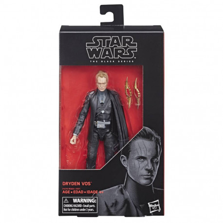 DRYDEN VOS STAR WARS SOLO BLACK SERIES ACTION FIGURE