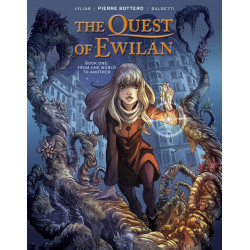 QUEST OF EWILAN HC VOL 1 FROM ONE WORLD TO ANOTHER