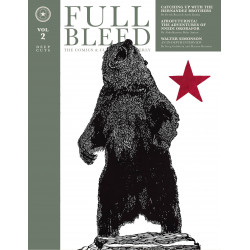 FULL BLEED COMICS CULTURE QUARTERLY HC VOL 2
