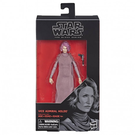 VICE ADMIRAL HOLDO STAR WARS THE LAST JEDI BLACK SERIES ACTION FIGURE