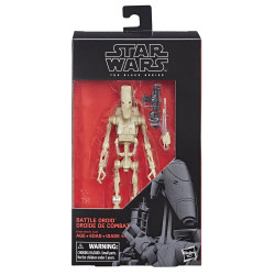 BATTLE DROID STAR WARS THE PHANTOM MENACE BLACK SERIES ACTION FIGURE