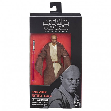 MACE WINDU STAR WARS REVENGE OF THE SITH BLACK SERIES ACTION FIGURE
