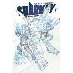 SHARKEY BOUNTY HUNTER 5 CVR B SKETCH BIANCHI