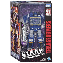 SOUNDWAVE TRANSFORMERS GENERATION WAR FOR CYBERTRON ACTION FIGURE