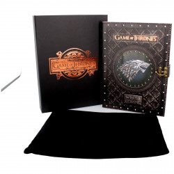 WINTER IS COMING GAME OF THRONES BOXED JOURNAL