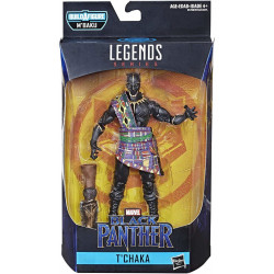 T'CHAKA BLACK PANTHER MARVEL LEGENDS SERIES 2 ACTION FIGURE