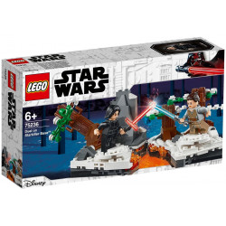 DUEL ON STARKILLER BASE STAR WARS LEGO BOX 75236