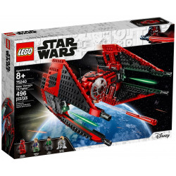 MAJOR VONREG'S TIE FIGHTER STAR WARS LEGO BOX 75240