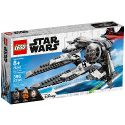 BLACK ACE TIE INTERCEPTOR STAR WARS LEGO 75242