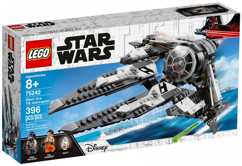 Black Star Ace Interceptor 75242 Tie Lego Wars kZXuOPi
