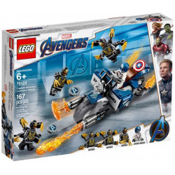CAPTAIN AMERICA OUTRIDERS ATTACK AVENGERS ENDGAME MARVEL SUPER HEROES LEGO 76123
