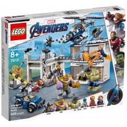 AVENGERS COMPOUND BATTLE AVENGERS ENDGAME MARVEL SUPER HEROES LEGO 76131