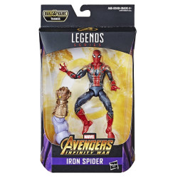 IRON SPIDER BEST OF AVENGERS INFINITY WAR MARVEL LEGENDS ACTION FIGURE
