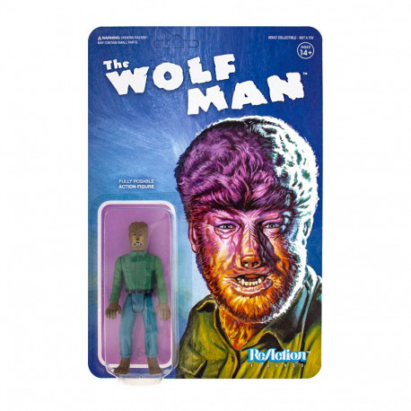 THE WOLF MAN UNIVERSAL MONSTERS REACTION FIGURE