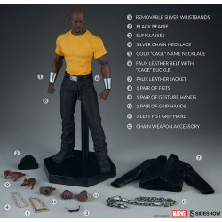 LUKE CAGE 1/6 MARVEL COMICS SIDESHOW ACTION FIGURE