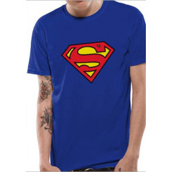SUPERMAN LOGO DC COMICS T SHIRT SIZE EXTRA LARGE