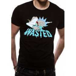 RICK AND MORTY WASTED T SHIRT SIZE MEDIUM