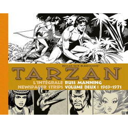 TARZAN : INTEGRALE RUSS MANNING NEWSPAPER STRIPS : 1969-1971