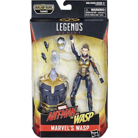 WASP ANT-MAN AND THE WASP MOVIE THANOS SERIES MARVEL LEGENDS ACTION FIGURE