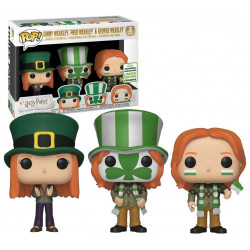 FRED GEORGE AND GINNY WEASLEY HARRY POTTER FUNKO POP! VYNIL FIGURE 3 PACK
