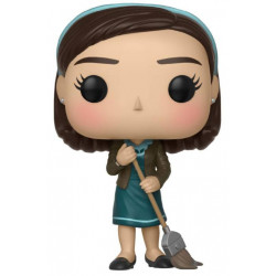 ELISA WITH BROOM THE SHAPE OF WATER POP! MOVIES VYNIL FIGURE