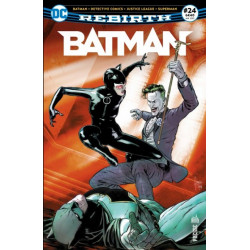 BATMAN REBIRTH 24 UN CLOWN AU MARIAGE