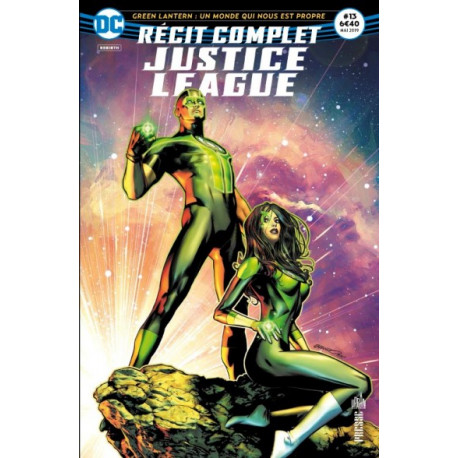 JUSTICE LEAGUE RECIT COMPLET 13 REVOLUTION COSMIQUE !