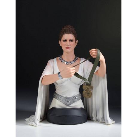 LEIA HERO OF YAVIN STAR WARS A NEW HOPE BUSTE 17 CM