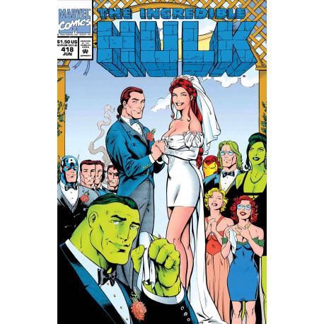 TRUE BELIEVERS HULK WEDDING OF RICK JONES