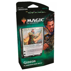 GIDEON PLANESWALKER DECK WAR OF THE SPARK MAGIC THE GATHERING ANGLAIS