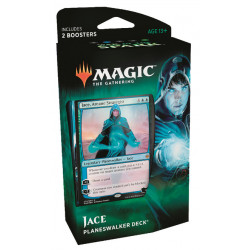 JACE PLANESWALKER DECK WAR OF THE SPARK MAGIC THE GATHERING ANGLAIS