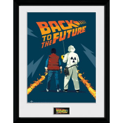 DOC AND MARTY COLLECTOR FRAME 45 X 34 CM