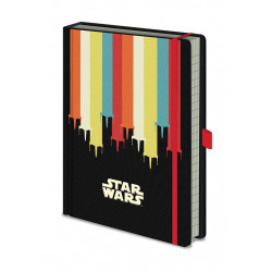 X-WING DARTH VADER STAR WARS PREMIUM A5 NOTEBOOK